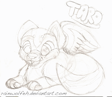 Taro sketchy C: by rainwolfeh