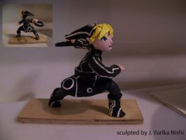 Tron Link Sculpture by mannjyu