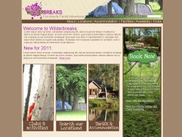Wilderbreaks website by Adele-Waldrom