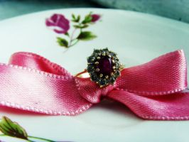 ...not an engagement ring... by deyuta