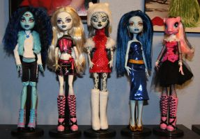 New OC custom Monster High dolls by rainbow1977