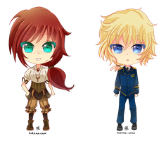 -- Chibi Commissions for Xx-Misericorde 02-03 -- by Kurama-chan