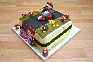 Mario Cake by elainewhy