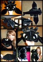 Toothless Plush by Sheeko636