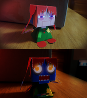 Lost Doll {PAPER-CRAFT} by Len11999
