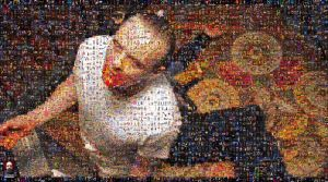 Dr. Lecter Photomosaic by DolfD