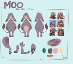 Moo ref sheet by atryl