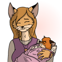 Nikita+Cub : Welcome to the World by Alex-MewMew