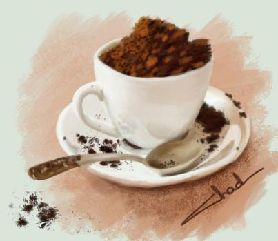 A Cup Of Coffe? Daily by CainKinris