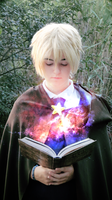 [APH] England - Magic book by KasumiVI