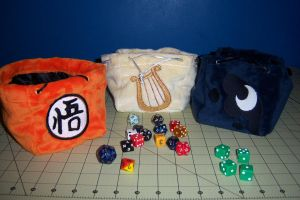 Dice bags by Wolferahm