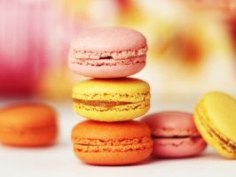 vivid macarons by st3rn1