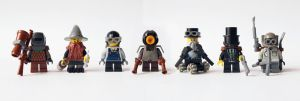 LEGO. 7 Dwarves for Snow White by DwalinF