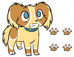 Little Dog Adoptable 3 - CLOSED by SpottedpeIt