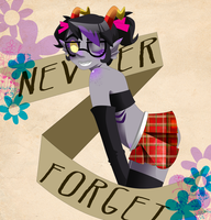 NEVER FORGET by zombiejam