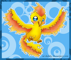 chibi moltres by Isi-Daddy