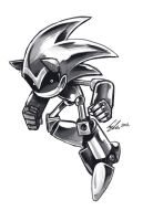 Silver Sonic by SupaCrikeyDave
