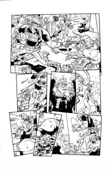 Bob Zombie inks - page 1 by Ink-Professor