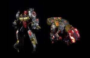 Custom Transformers FOC Grimlock by xenethis