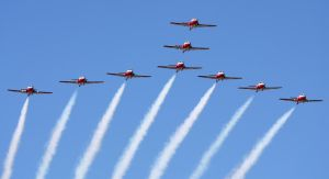 Snowbirds Flyby 1 by shelbs2