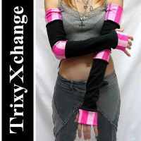 Extra Long Arm Warmers by TrixyXchange