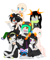 HomeStuck COLLAB by Nepeta-Chan