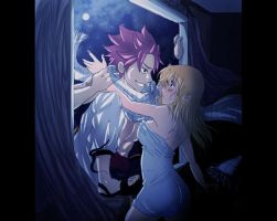 Nalu: Lucy's visitor by Nishi06