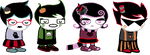 GOTHIC TRICKSTER Sprites by Froxnight