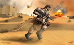 Insurrection in the Desert by SymbolHero