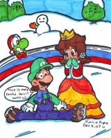 on the ice by Nintendrawer