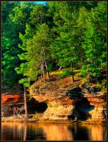 Wisconsin Dells Beauty by papatheo
