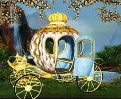 Carriage Background by Charmedstar07