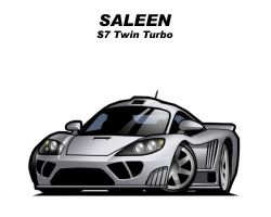 Chibi Saleen S7 TT by CGVickers