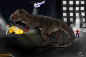 Jurassic Park by Cougar28