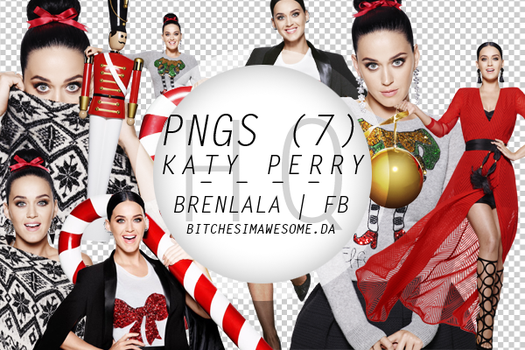 Katy Perry Holiday 2015 PNG by BitchesImAwesome