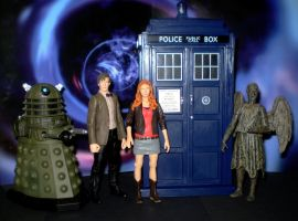 Some Dr Who Figs by CyberDrone