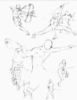 Action poses 5 by shinsengumi77