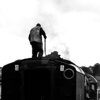 Trainman by paradoxofminds