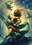 Hercules vs Hydra by MK-Junior