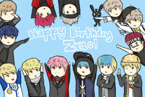 Happy Birthday Zelo! by iCupcakeCat