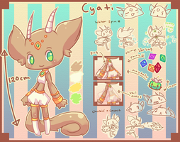 Cyati Character Ref by chicinlicin