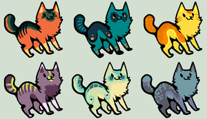 Feline/Canine Adopts by HAWKB0T