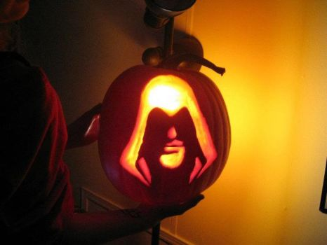 Assassin's Creed Pumpkin by SuspiciousGoodness
