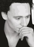 Tom Hiddleston Vector by TheArtOfMuffin