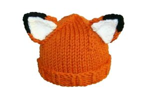 Adult Fox Hat by TheSleepyRabbit
