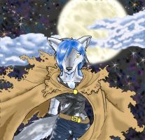 Moonlit Howl by BlackMoon13