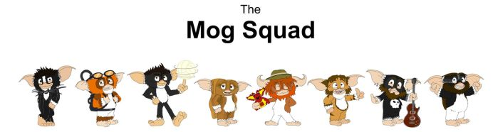 The Mog Squad by theoctagon0