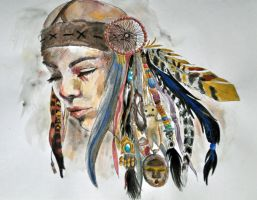 Shaman by MonkeyOfTheCity