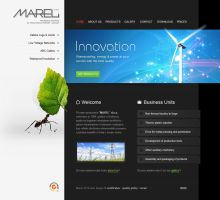 Marel Web Design by lKaos
