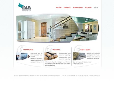 engineering web site by renklisayfa